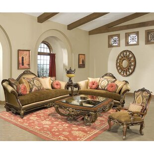 Benetti's Italia Sicily 2 Piece Coffee Table Set