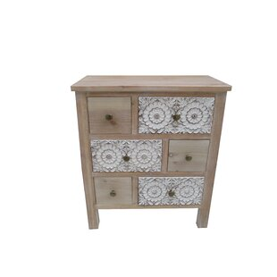Boyabat 6 Drawer Accent Cabinet by Bungalow Rose