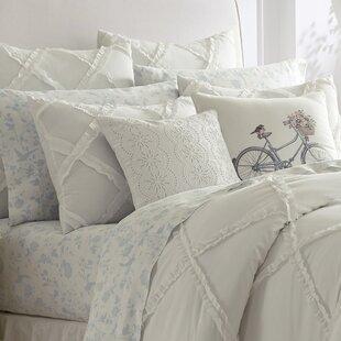 Adelina Ruffle Cotton Duvet Set