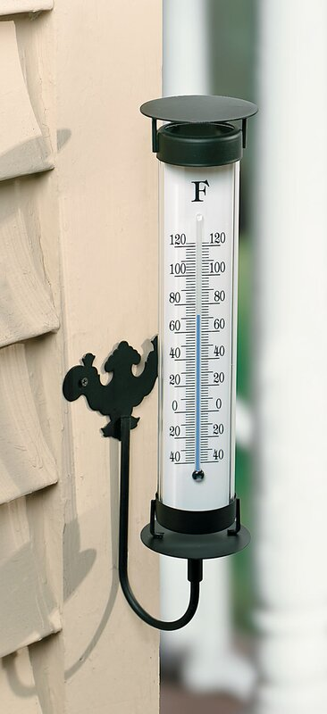 Awesome Indoor / Outdoor Wall Mount Thermometer