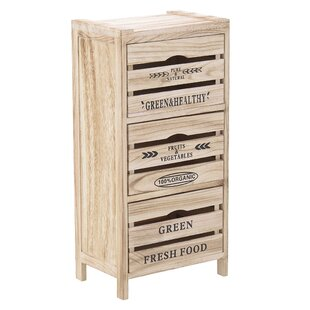 Mendoza 3 Drawer Chest By August Grove