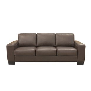 Low priced Sorrel Leather Sofa by Latitude Run Reviews (2019) & Buyer's Guide