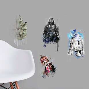 Star Wars Iconic Watercolor Peel and Stick Wall Decal
