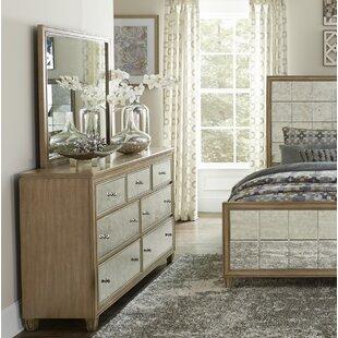 Order Gunnar 7 Drawer Dresser with Mirror by Rosdorf Park