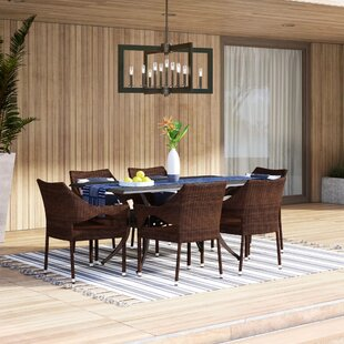 Mealy 7 Piece Dining Set by Mercury Row