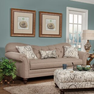 Serta Upholstery Chess Sofa by Darby Home Co Comparison