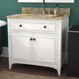 Gettys 31 Single Bathroom Vanity Set by Three Posts