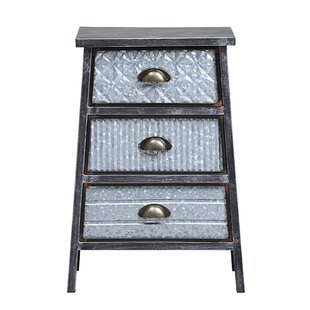 Roof 3 Drawer Accent Chest by Williston Forge