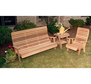 Cedar 3 Piece Sofa Set