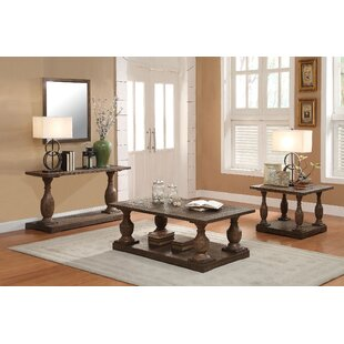 A&J Homes Studio Hanson 3 Piece Coffee Table Set