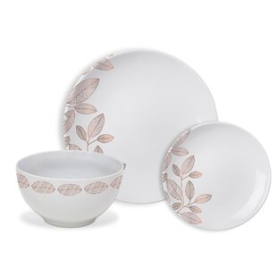 Minnis Foliage 12 Piece Dinnerware Set, Service for 4