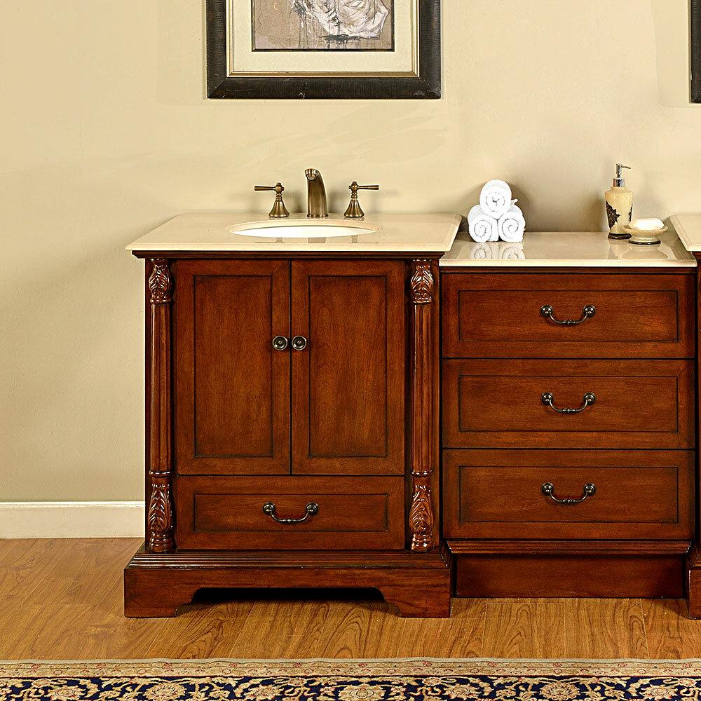Lulu 56 Single Bathroom Vanity Set