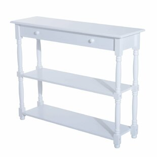 Adonis 3 Tier Console Table by Charlton Home
