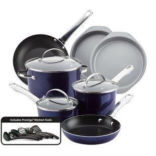 16 Piece Non-Stick Cookware Set