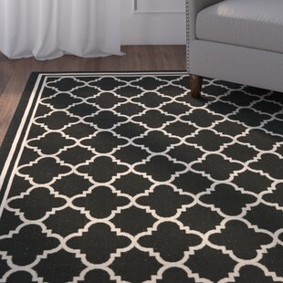 Herefordshire Black/Beige Indoor/Outdoor Area Rug