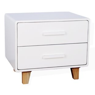 Juniper 2 Drawer Nightstand by Porthos Home