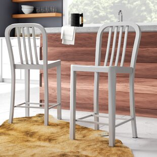 Hodnett 24.41 Patio Bar Stool (Set of 2)