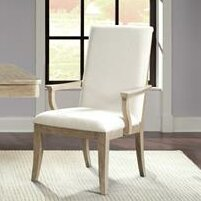 Almazan Upholstered Dining Chair (Set of 2) One Allium Way