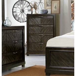 Gracie Oaks Vachel 4 Drawer Chest