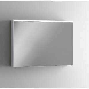 Gilbert 90cm X 65cm Surface Mount Mirror Cabinet With Lighting By Ebern Designs