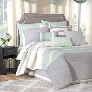 Andover Mills Skelley 24 Piece Reversible Comforter Set