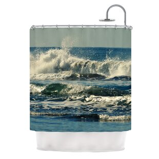 Forever Young by Robin Dickinson Coastal Single Shower Curtain