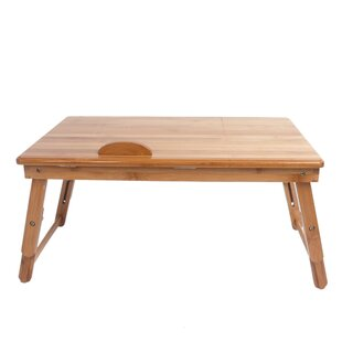 Faulk Trendy Adjustable Bamboo Desk
