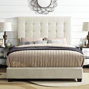 Ivy Bronx Burger Upholstered Panel Bed