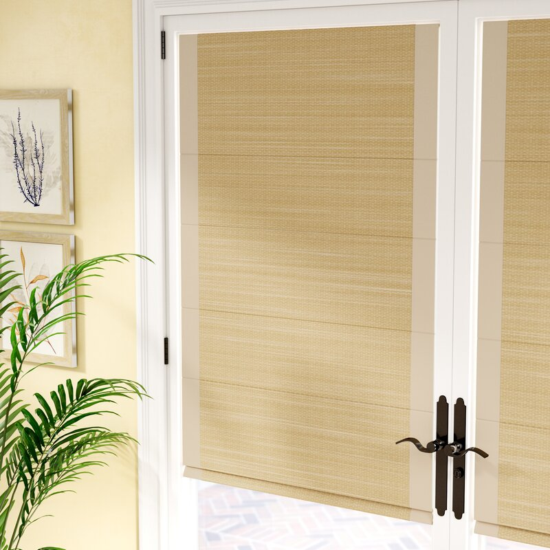 51507a5270a Rosecliff Heights Woven Cane Paper Roman Shade   Reviews