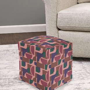 Trafford Pouf by Wrought Studio