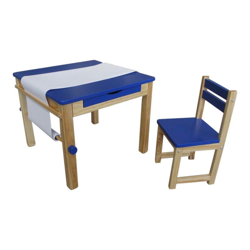 liberty house toys 2 tlg tisch und stuhl set boss art. Black Bedroom Furniture Sets. Home Design Ideas