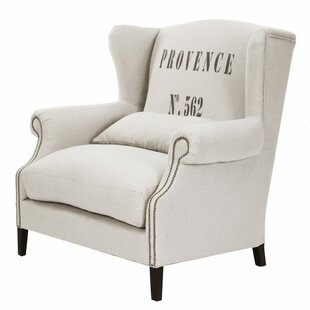 Napoleon Wingback Chair by Zentique