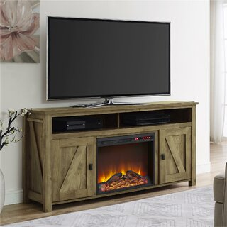 Whittier TV Stand for TVs up to 60 inches with Electric Fireplace Included by Mistana SKU:CA625745 Description