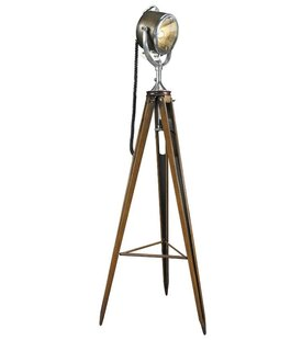Half Mile Ray Searchlight 64.6 Tripod Floor Lamp By Authentic Models