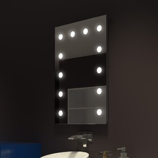 Find Tarek Illuminated Bathroom/Vanity Mirror By Everly Quinn