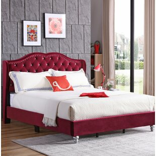 Rosdorf Park Colbourne Upholstered Panel Bed