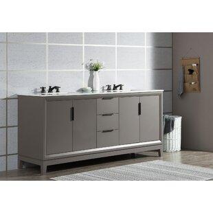 Tappahannock 72 Double Bathroom Vanity Set By Ivy Bronx