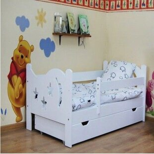 Luke Convertible Toddler Bed With Drawer By Isabelle & Max