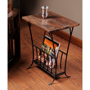 Elige Magazine End Table by Fleur De Lis Living