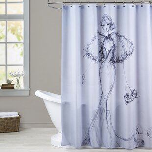Boylston Leopard Clutch Single Shower Curtain