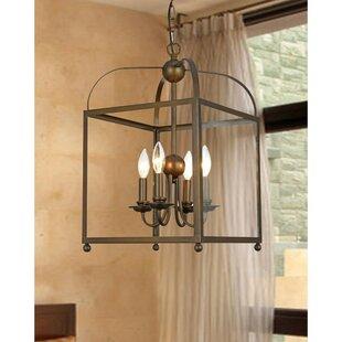 Find the perfect West Wick 4-Light Foyer Lantern Pendant By Gracie Oaks