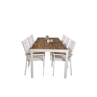 Hyeon 6 Seater Dining Set By Sol 72 Outdoor