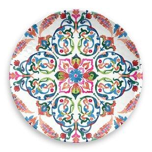 Indie 21.5cm Melamine Dessert Plate (Set Of 4) By Tar Hong