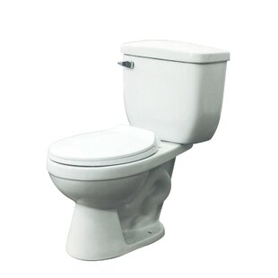 Transolid Madison 1.28 GPF Elongated Two-Piece Toilet