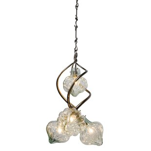 Varaluz Tusk 4-Light Shaded Chandelier