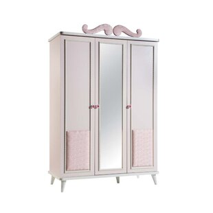 Aislinn 3 Door Wardrobe Armoire by Zoomie Kids