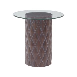 Reviews Agueda End Table by Bloomsbury Market