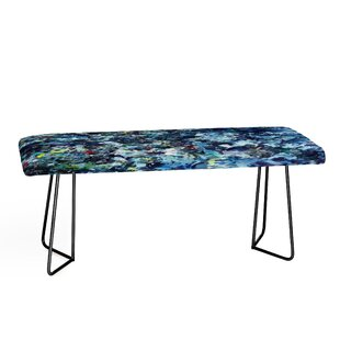 East Urban Home Paul Kimble After Jackson Faux Leather Bench
