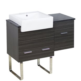Xena Farmhouse Plywood-Melamine 37 Single Bathroom Vanity Base by American Imaginations