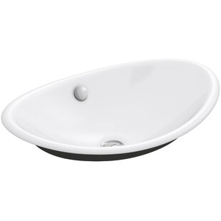 Find for Iron Plains™ Metal Oval Vessel Bathroom Sink with Overflow By Kohler